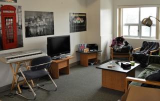University Residence Livingroom