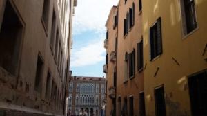 Quaint streets in Venice